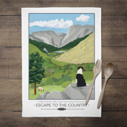 Escape to the Country Tea Towel 2
