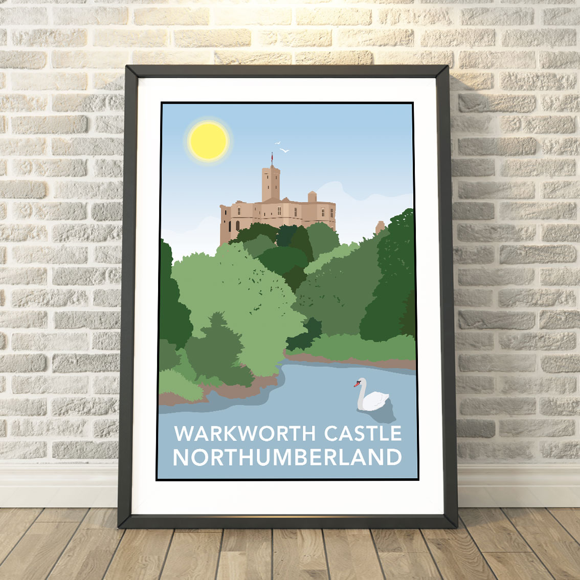 Vintage British Rail Seahouses Northumberland Railway Poster A4//A3//A2//A1 Print